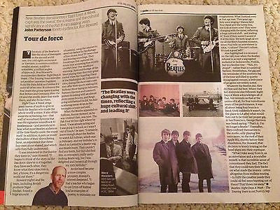 (UK) GUARDIAN MAGAZINE SEPTEMBER 2016 THE BEATLES PAUL MCCARTNEY ON THE ROAD