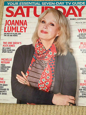 NEW Saturday Mag JOANNA LUMLEY Tom Jones Jason Durr Kylie Minogue Julie Graham