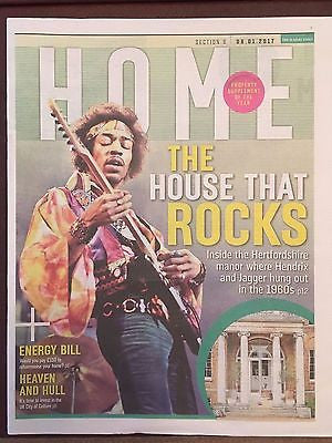 Sunday Times Home Supplement January 2017 Jimi Hendrix - Inside The Manor