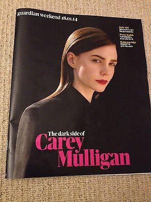 CAREY MULLIGAN interview STEPHEN DILLANE UK 1 DAY ISSUE 2014 NEW JAMES BLUNT