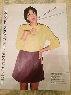 INDEPENDENT MAGAZINE JUNE 2015 ZAWE ASHTON FRESH MEAT PHOTO INTERVIEW