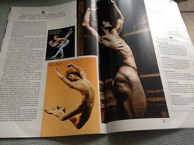 ROBERTO BOLLE male physique SERGEI POLUNIN UK STYLE MAGAZINE AUGUST 2015