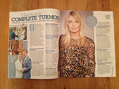 EXTRA Magazine Sept 2014 Emma Atkins Rob James Collier Allen Leech Downton Abbey