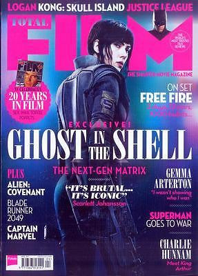 Total Film Magazine April 2017 - Ghost in the Shell Exclusive -  Charlie Hunnam
