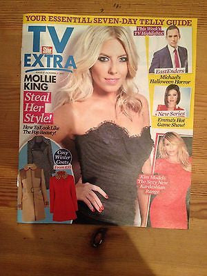 MOLLIE KING interview THE SATURDAYS UK 1 DAY ISSUE 2013 *** KIM THE KARDASHIANS