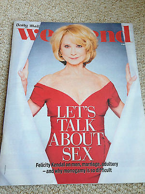 FELICITY KENDAL Liz Hurley Sigourney Weaver GYPSY ROSE LEE Weekend Magazine 2015