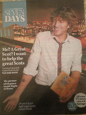 PAOLO NUTINI PHOTO INTERVIEW SEVEN DAYS MAGAZINE OCTOBER 2015 TOM BATEMAN