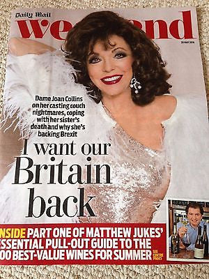 JOHN LYDON - PHILIP GLENISTER - ELAINE PAIGE Weekend UK Magazine May 2016