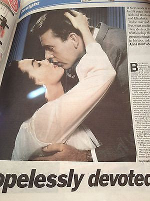 50 Years Anniversary ELIZABETH TAYLOR & RICHARD BURTON Photo Article 2014