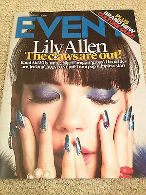 NEW EVENT MAGAZINE NOVEMBER 2014 LILY ALLEN RICHARD HAMMOND PETULA CLARK