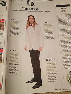 DJ Cassidy New Review Magazine Clippings Interview Jared Leto Valentine Warner