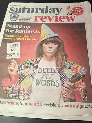 Times Saturday Review July 2014 Bridget Christie Rudolf Nureyev Margot Fonteyn