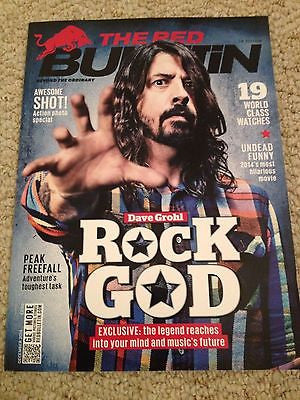 RED BULLETIN MAGAZINE DECEMBER 2014 DAVE GROHL THE FOO FIGHTERS MICHAEL HUISMAN