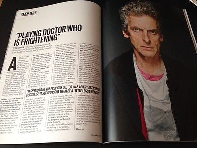 Red Bulletin Magazine OCT 2015 PETER CAPALDI JOSEPH GORDON LEVITT EMMY ROSSUM