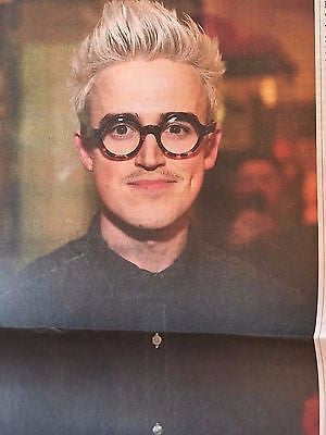 Mcfly TOM FLETCHER PHOTO INTERVIEW UK GUARDIAN FAMILY - JANAURY 2017