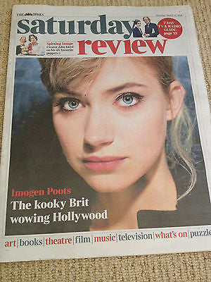TIMES SATURDAY REVIEW 2014 IMOGEN POOTS LED ZEPPELIN JIMMY PAGE
