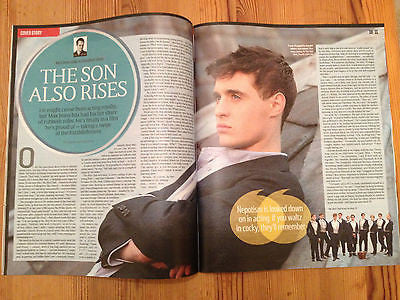 The White Queen MAX IRONS PHOTO COVER INTERVIEW AUG 2014 KATE BUSH Oliver Chris