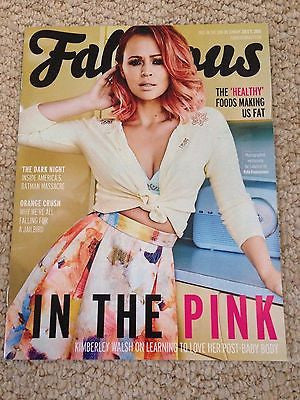 Girls Aloud KIMBERLEY WALSH UK PHOTO INTERVIEW FABULOUS MAGAZINE JULY 2015