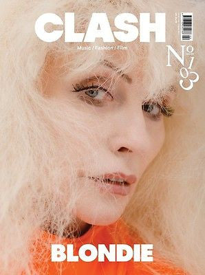 BLONDIE Debbie Harry PHOTO COVER INTERVIEW UK CLASH MAGAZINE ISSUE 103 NEW