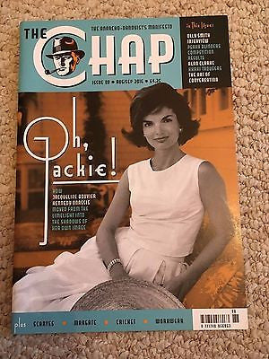Jackie Bouvier Kennedy Onassis Photo Cover UK The Chap Magazine August 2016