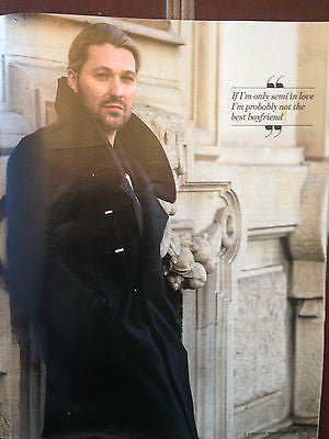 DAVID GARRETT PHOTO INTERVIEW UK MAGAZINE APRIL 2015 JOSH GROBAN