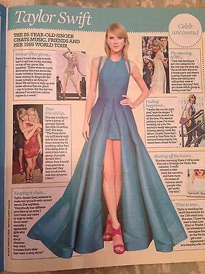 ASHLEY ROBERTS UK PHOTO INTERVIEW JUNE 2015 TAYLOR SWIFT RACHEL STEVENS