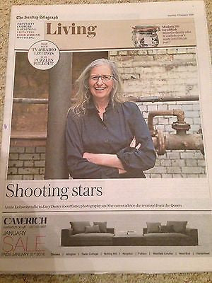 ANNIE LEIBOVITZ Photo Interview Telegraph Living January 2016 NEW LUKE TREADAWAY