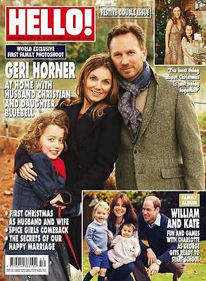 (UK) HELLO Magazine January 2016 GERI HALLIWELL HORNER PRINCE GEORGE CHARLOTTE