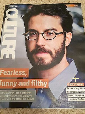 JONATHAN SAFRAN FOER EXCLUSIVE PHOTO INTERVIEW UK CULTURE MAGAZINE AUGUST 2016