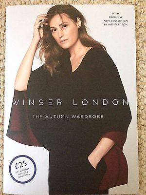 Yasmin Le Bon Photo Cover Winser London Catalog Autumn 2016