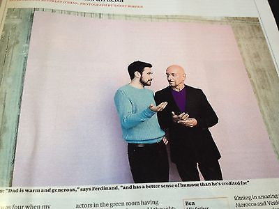 DAVID BECKHAM Photo Cover interview TIMES MAGAZINE JUNE 2014 BEN KINGSLEY