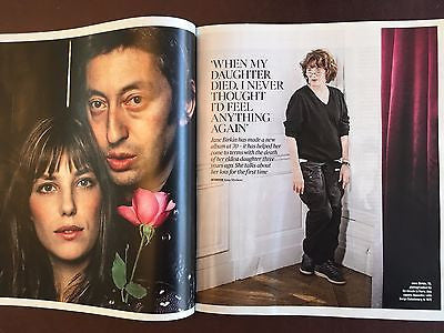 JANE BIRKIN AT 70 PHOTO INTERVIEW UK TIMES MAGAZINE APRIL 2017 NEW Jin Xing