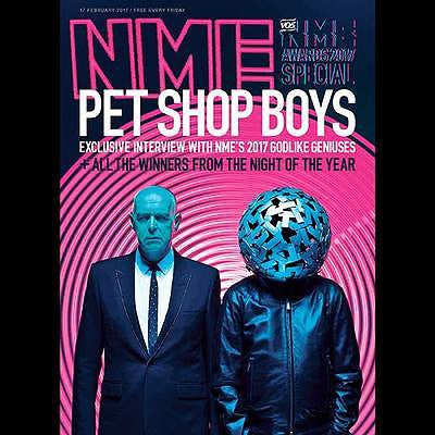 PET SHOP BOYS - Exclusive Interview NME UK magazine February 2017