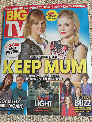 BIG  Magazine 07/2016 LUCY FALLON Sophie Rundle REBECCA ROOT Tina O'Brien