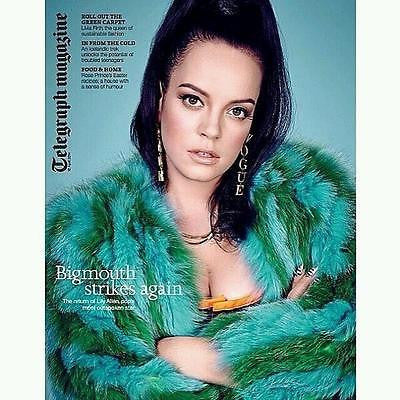 NEW TELEGRAPH MAGAZINE LILY ALLEN LIVIA FIRTH COLIN APRIL 2014