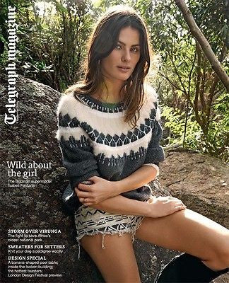 ISABELI FONTANA PHOTO COVER SHOOT TELEGRAPH MAGAZINE 2014 SARAH JANE MORRIS