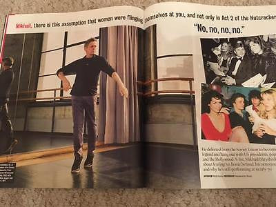 UK Times Magazine March 2017 Mikhail Baryshnikov David Haye Faye Dunaway