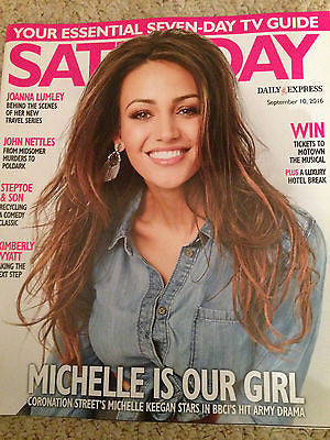 SATURDAY Magazine 9/16 MICHELLE KEEGAN Marty Wilde JOHN NETTLES Ophelia Lovibond