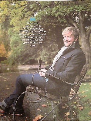 Westlife KIAN EGAN PHOTO INTERVIEW IRISH WEEKEND MAGAZINE NOVEMBER 2015