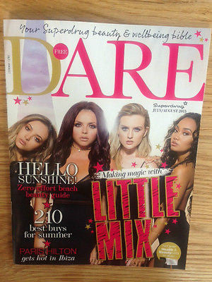 LITTLE MIX PHOTO INTERVIEW UK DARE MAGAZINE JULY 2015 - UK EXCLUSIVE