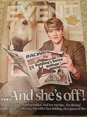 EVENT MAGAZINE SEPTEMBER 2016 CLARE BALDING PHOTO COVER INTERVIEW JOHN NETTLES