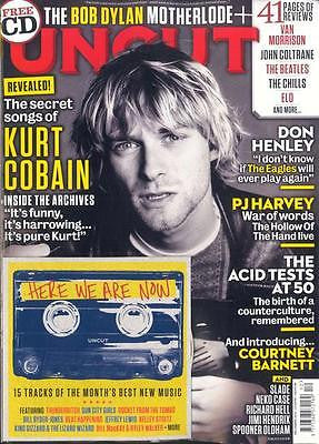 UK UNCUT MAGAZINE DECEMBER 2015 NIRVANA KURT COBAIN DON HENLEY PJ HARVEY + CD