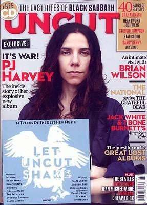 Hope Six Demolition PJ HARVEY Photo Cover Special UK UNCUT MAGAZINE MAY 2016