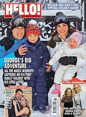 (UK) HELLO Magazine March 2016 KATE MIDDLETON PRICE GEORGE CHARLOTTE PHOTO ALBUM
