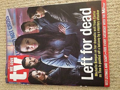 WLT Magazine May 2014 Michelle Keegan Chris Gascoyne Alison King Colin Morgan