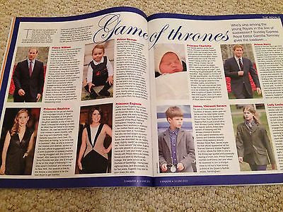 THE ROYAL FAMILY prince george Royal Baby PHOTO Supplement ...