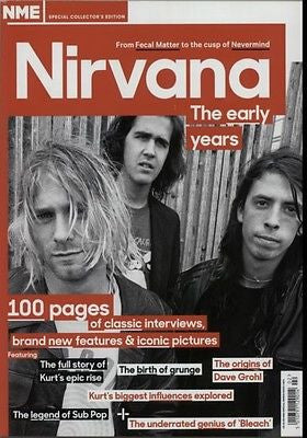 NME MAGAZINE COLLECTOR'S EDITION NIRVANA THE EARLY YEARS 100 PAGES KURT COBAIN