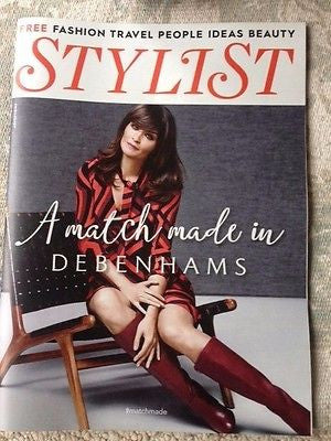 UK STYLIST MAGAZINE 2015 QUEEN ELIZABETH II HELENA CHRISTENSEN ANNE-MARIE DUFF