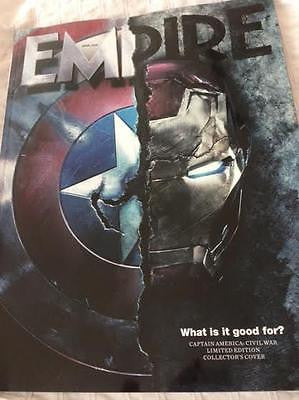 Empire Magazine April 2016 Captain America Civil War Special Subscribers Cover