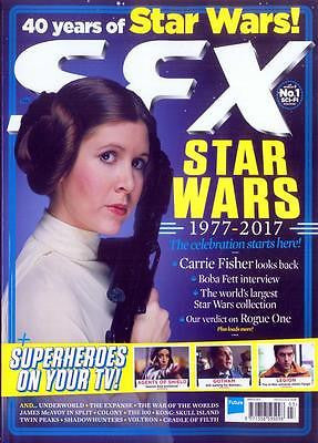 SFX magazine - March 2017 Carrie Fisher Star Wars